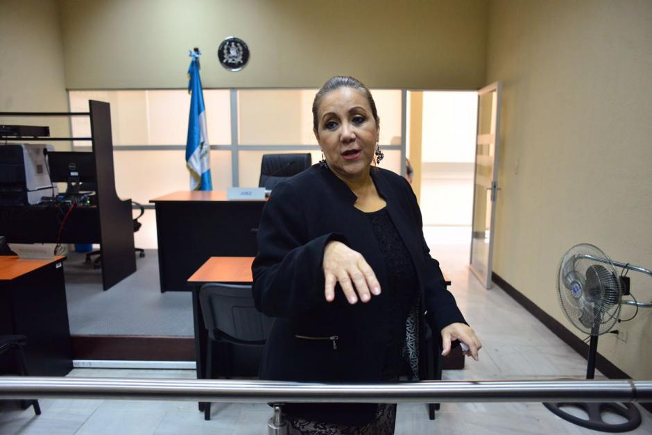 Blanca Stalling llegó de nuevo a Tribunales. (Foto: Jesús Alfonso/Soy502)