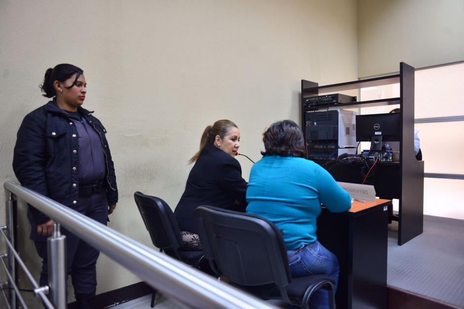 La abogada defensora logró que trasladaran la audiencia para mañana. (Foto: Jesús Alfonso/Soy502)