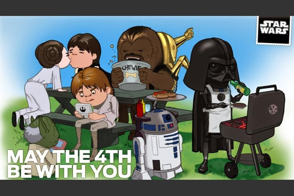 "Las redes sociales celebran el el ""May the 4th Be With You. (Foto: geekersblog.com)"