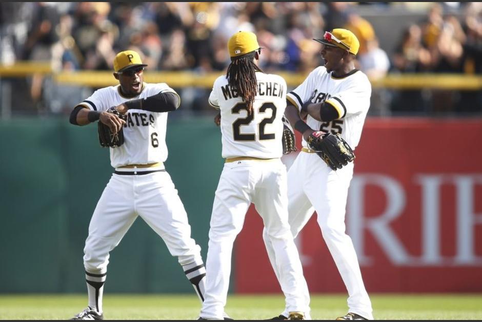 Los Piratas de Pittsburgh se impusieron a los Dodgers con siete carreras de diferencia