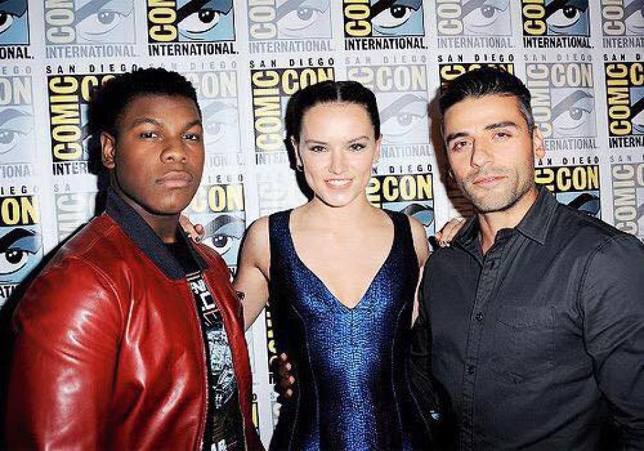 Las estrellas de Star Wars se dieron cita en el Comic Con de San Diego. (Foto: El Comercio Perú)