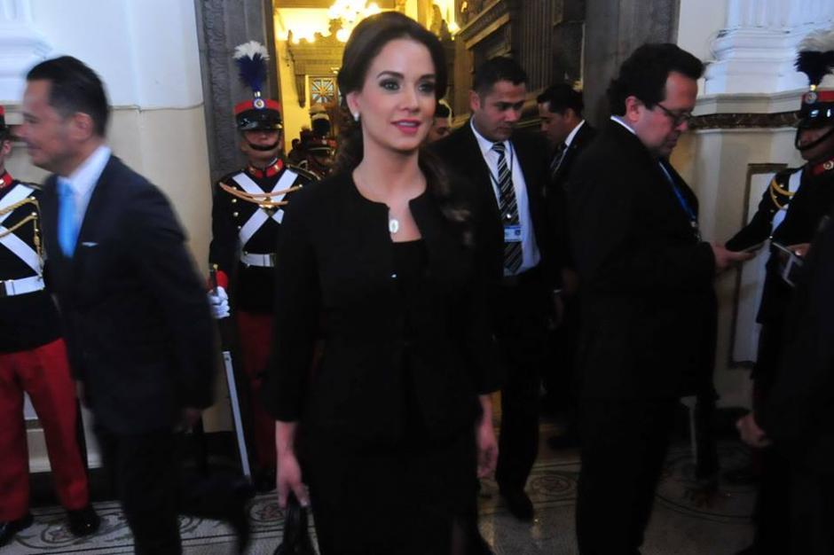 La nueva diputada llegó en lugar de Gudy Rivera al Congreso. (Foto: Alejandro Balán/Soy502)