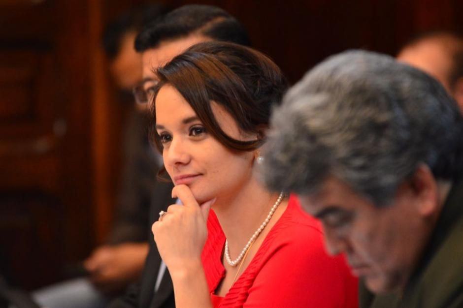Stella Alonzo es la jefa de la bancada Patriota. (Foto: Jesús Alfonso/Soy502)