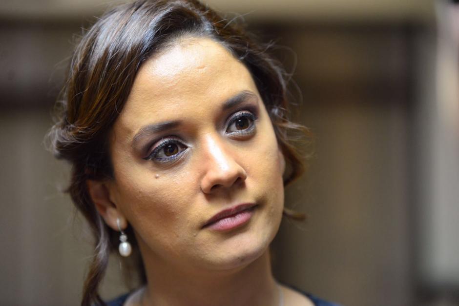 La diputada Stella Alonzo se molestó por la respuesta del ministro. (Foto: Archivo/Soy502)