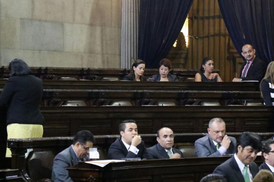 Alonzo ha tenido poca participación en las sesiones del Congreso. (Foto: Archivo/Soy502)