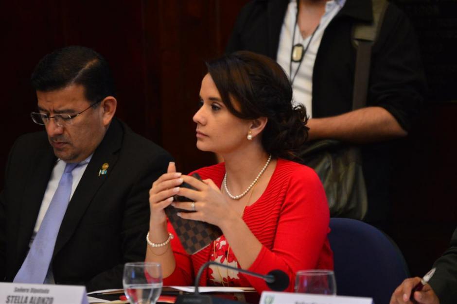 Alonzo es nuera del expresidente Otto Pérez Molina. (Foto: Jesús Alfonso/Soy502)
