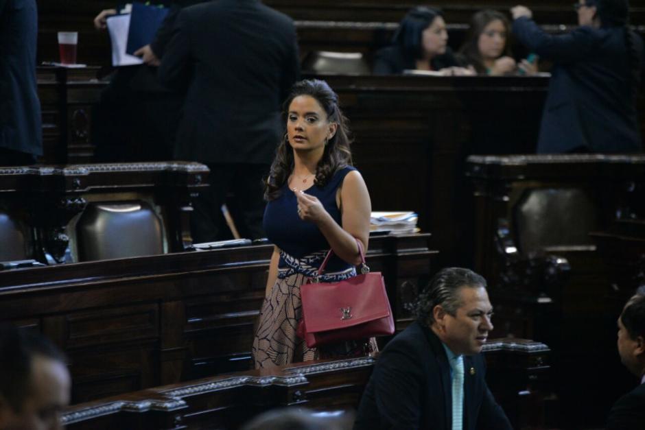 La diputada Stella Alonzo también se ausentó por más de cuatro sesiones y no tuvo alguna sanción. (Foto: Archivo/Soy502)