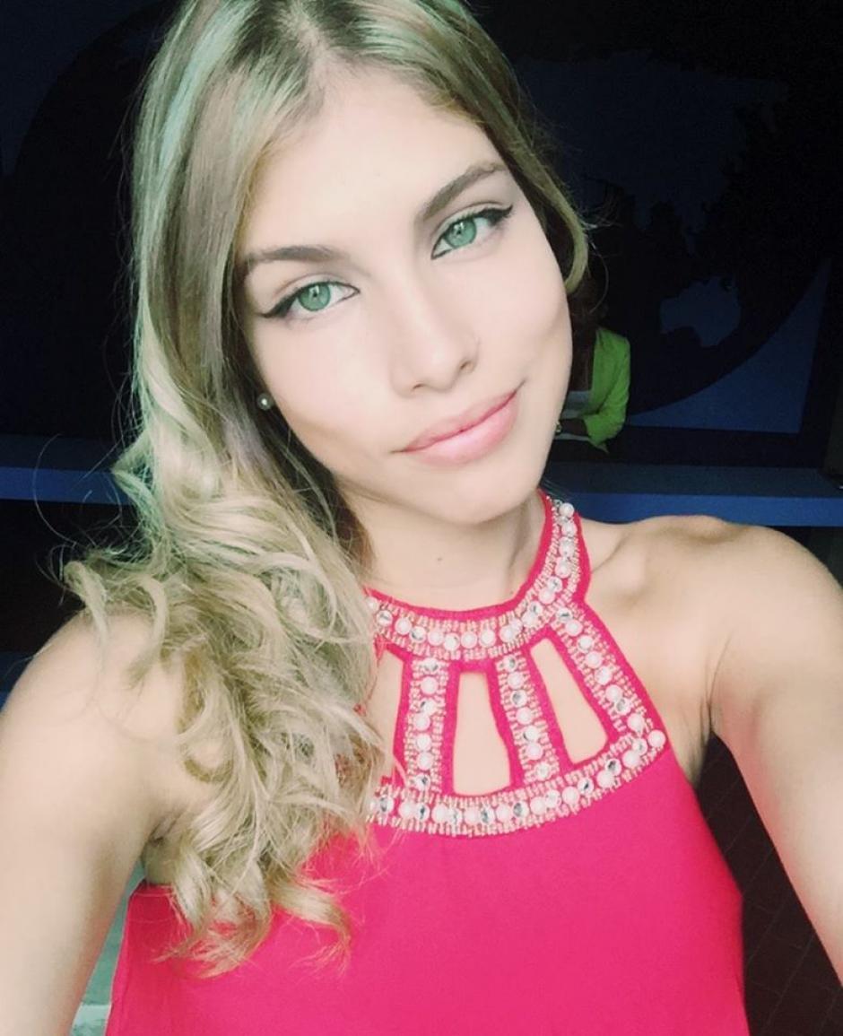 Después de ganar un casting la joven viajó de Cali, Colombia, hacia la ciudad de México. (Foto: Stephanie Magón/Facebook)