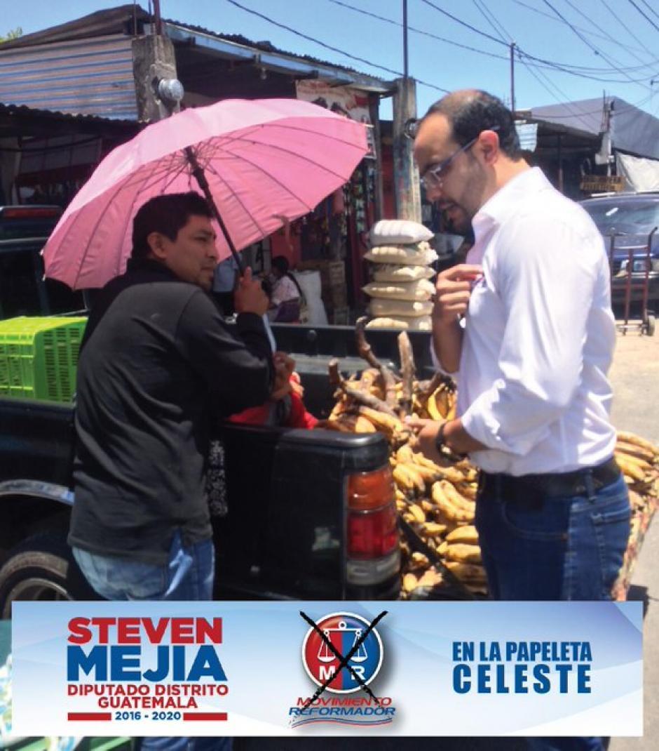 Ningún candidato a diputado por el Movimiento Reformador resultó electo. (Foto: @stevenmejiagt/Twitter)