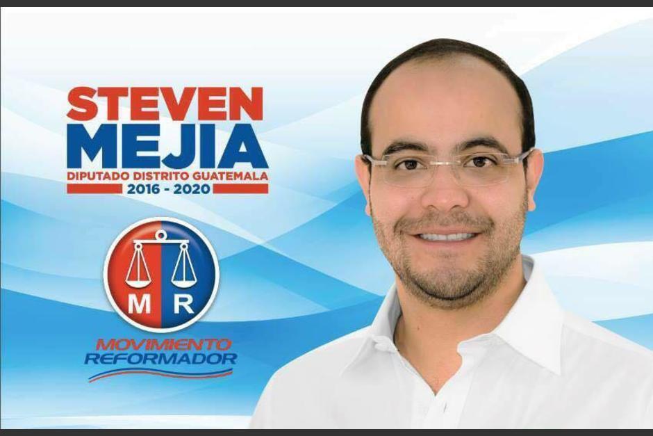 Mejía ocupó la tercera casilla del listado distrital. (Foto: Santiago Palomo Vila/Facebook)