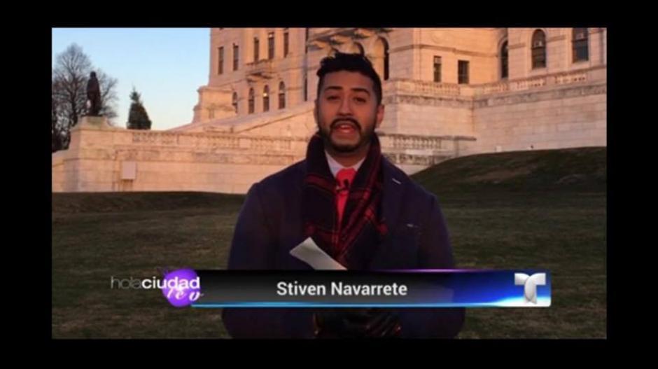 """Conoce a Stiven Navarrete, presentador del programa """"Hola Ciudad Teve!"""" (Foto: Stiven Navarrete)"""
