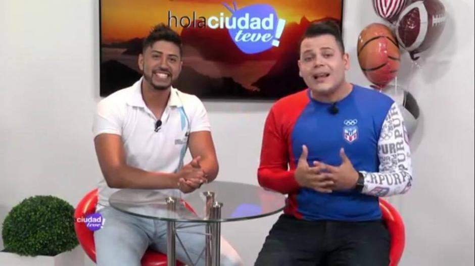 Navarrete comparte con compañeros de Venezuela y Puerto Rico. (Foto: Stiven Navarrete)