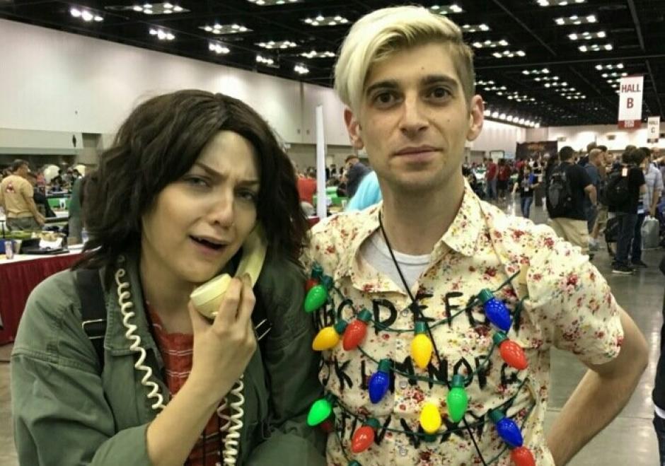 """¿Alguien dijo """"Stranger Things""""? Este podría ser el mejor disfraz para Halloween. (Foto: sopitas.com)"""