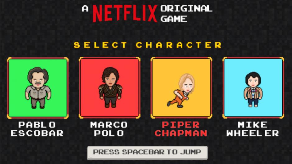 Para jugar también puedes elegir a los personajes de Marco Polo y Orange is the New Black. (Foto: Univisión)