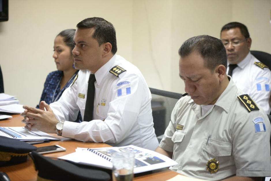 El subdirector de la PNC afirma que la llave fue entregada al MP. (Foto: Wilder López/Soy502)