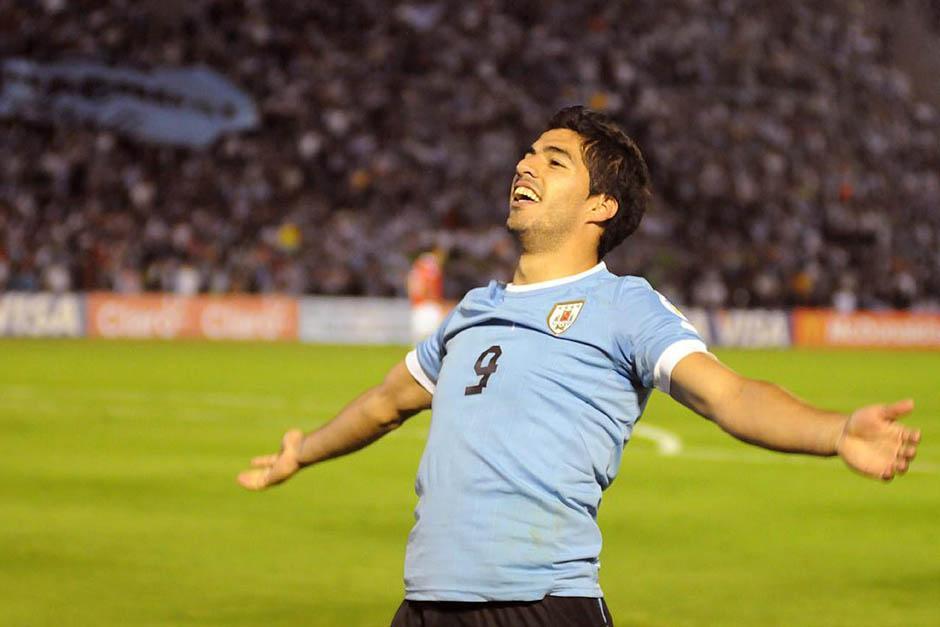Luis Suárez es el goleador de Uruguay en las eliminatorias.