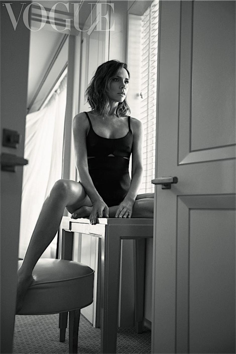 Ella aconseja y anima a su 'yo' (Foto: Lachlan Bailey / Vogue)