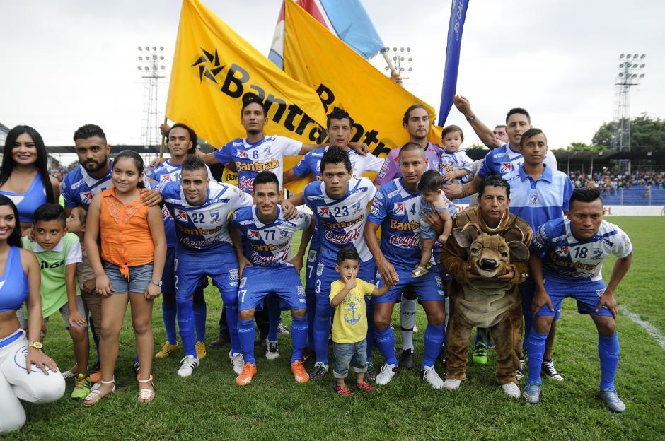 Este fue el once titular de Suchi que derrotó a Comunicaciones. (Foto: Orlando Chile/Nuestro Diario)