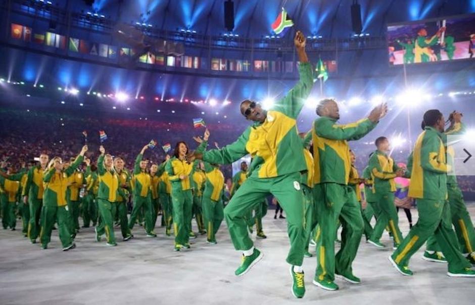 Los trajes de Sudáfrica son muy coloridos. (Foto: Vogue)