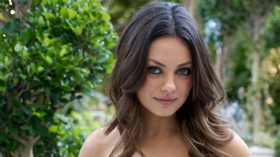 Participó como invitada especial en un capítulo de la duodécima temporada de Two and a Half Men junto con su actual marido, Ashton Kutcher. (Foto: pickywallpapers.com)