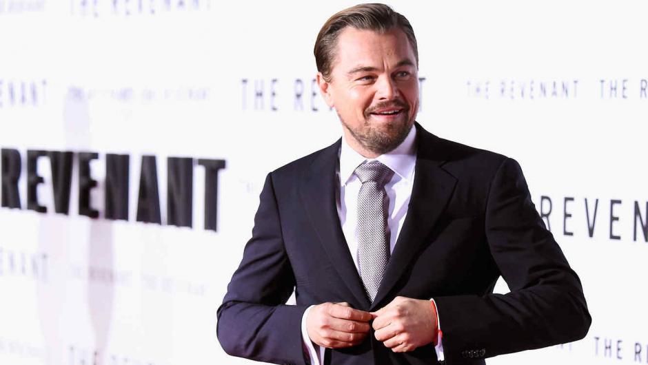 Leonardo Di Caprio estaba nominado por la película The Revenant.  (Foto: EFE)