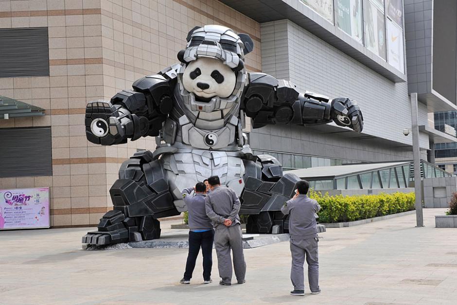 Este es el Iron Panda también hecho en China. (Foto: demilked)