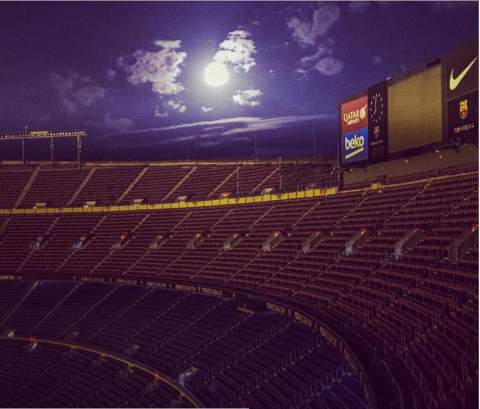 La cuenta del FC Barcelona no quiso quedarse atrás y compartió esta postal. (Foto: Instagram/FC Barcelona)