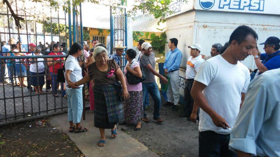 En San José El Ídolo, Suchitepéquez, se repite la elección para alcalde municipal. (Foto: Nuestro Diario)