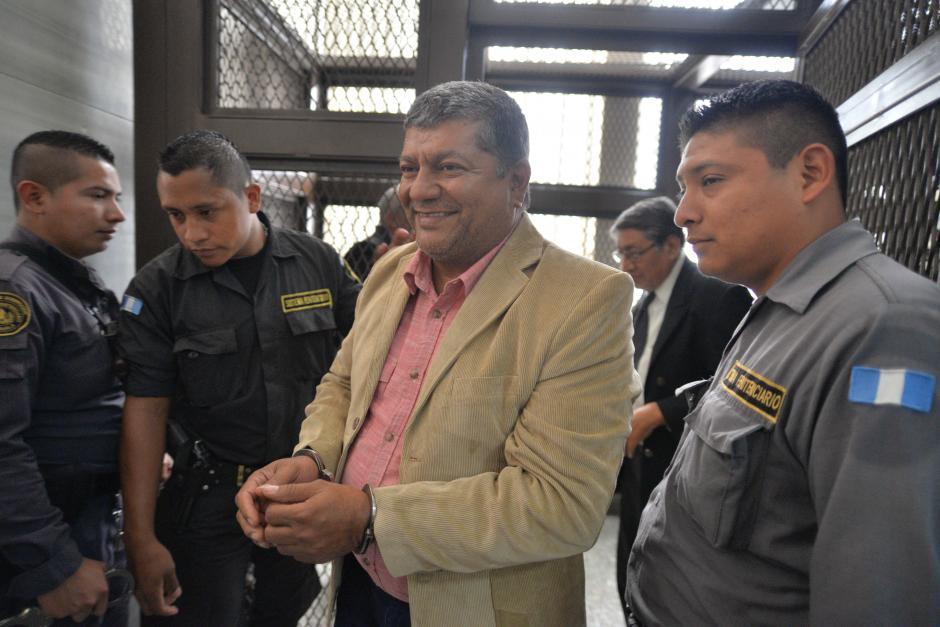 Obdulio Mendoza Mata es sindicado de liderar la estructura. (Foto: Wilder López/Soy502)