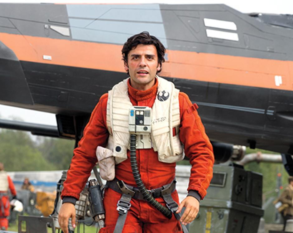 El guatemalteco Óscar Isaac interpreta a Poe Dameron. (Foto Entertainment Weekly)
