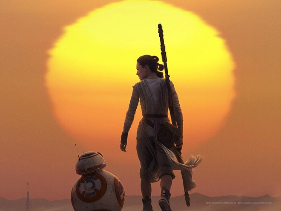 """La heroína de la cinta es Rey, es el personaje central de """"Star Wars: el despertar de la fuerza"""". (Foto: sitio oficial de Star Wars)"""