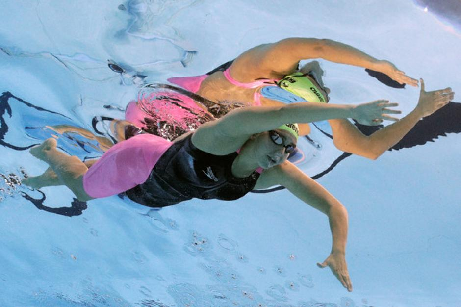 Valerie Gruest es una promesa del deporte guatemalteco. (Foto: Zimbio)