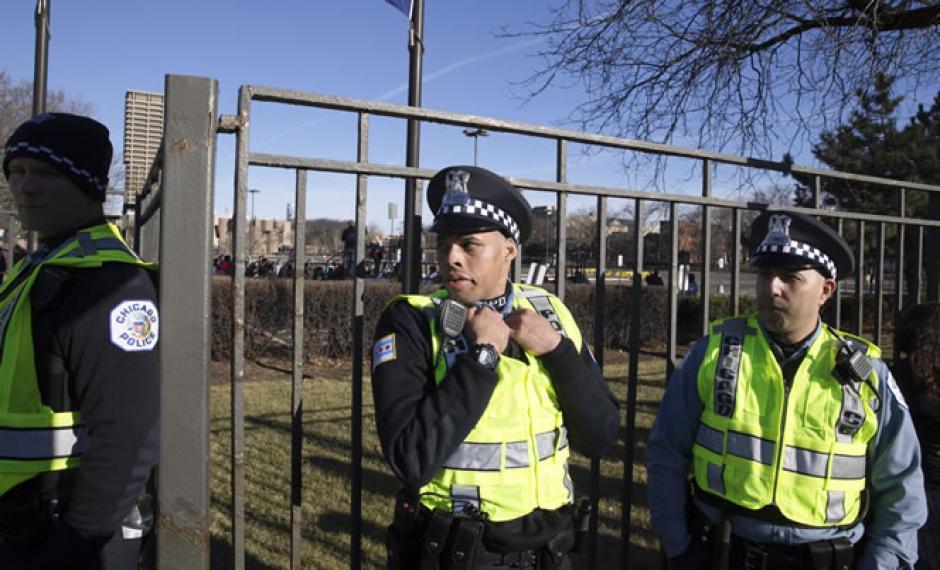 Las fuerzas de seguridad tuvieron que dispersar a los manifestantes. (Foto: CNN)