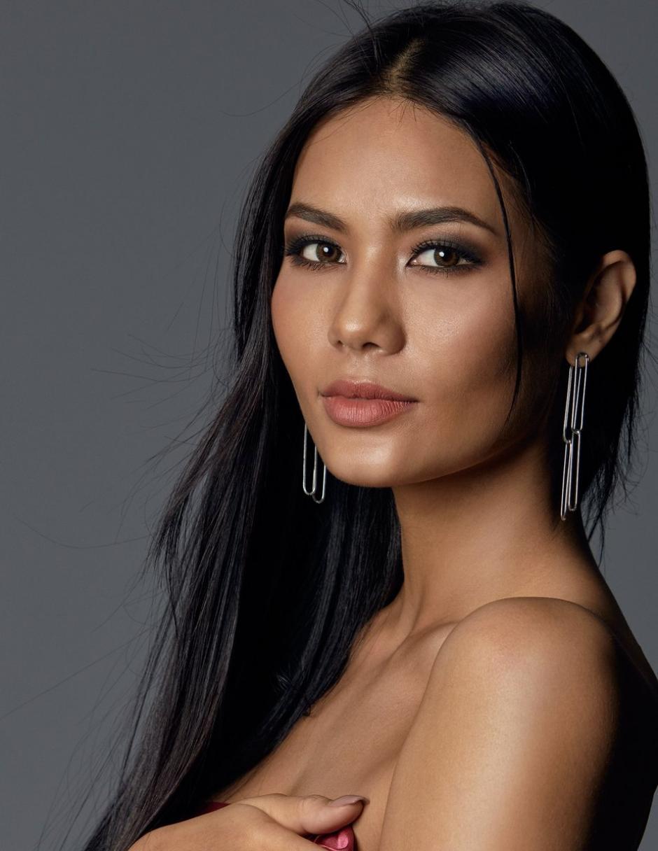 Tailandia figuró entre las seis finalistas gracias a la estudiante de microbiología, Chalita Suansane. (Foto: Twitter/Miss Universe)