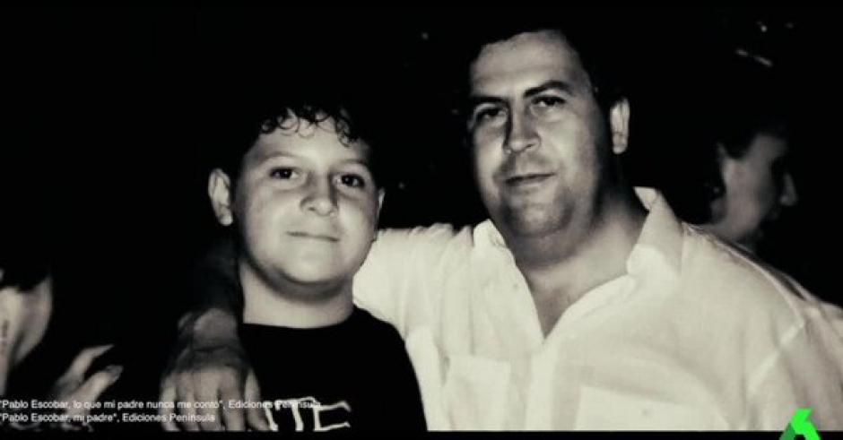 Sebastián junto a su padre en una de sus últimas fotos. (Foto: Twitter)