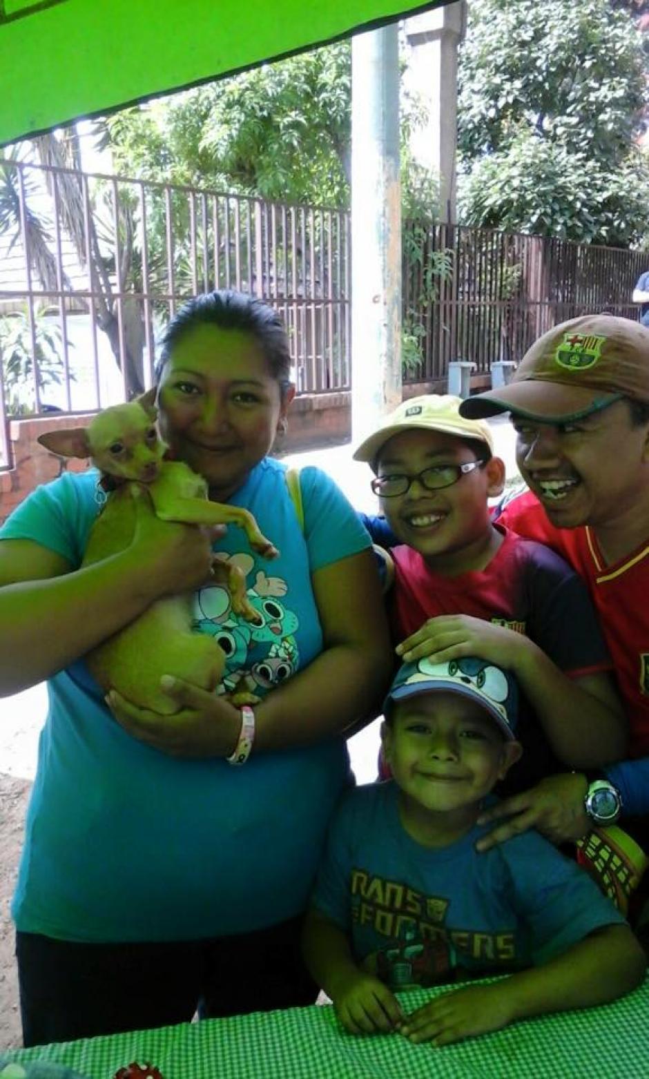 Taquito es vocero del Albergue Municipal de la zona 21, se dedica a crear conciencia para que las personas adopten y no compren perritos. (Foto: Albergue Municipal de Mascotas)