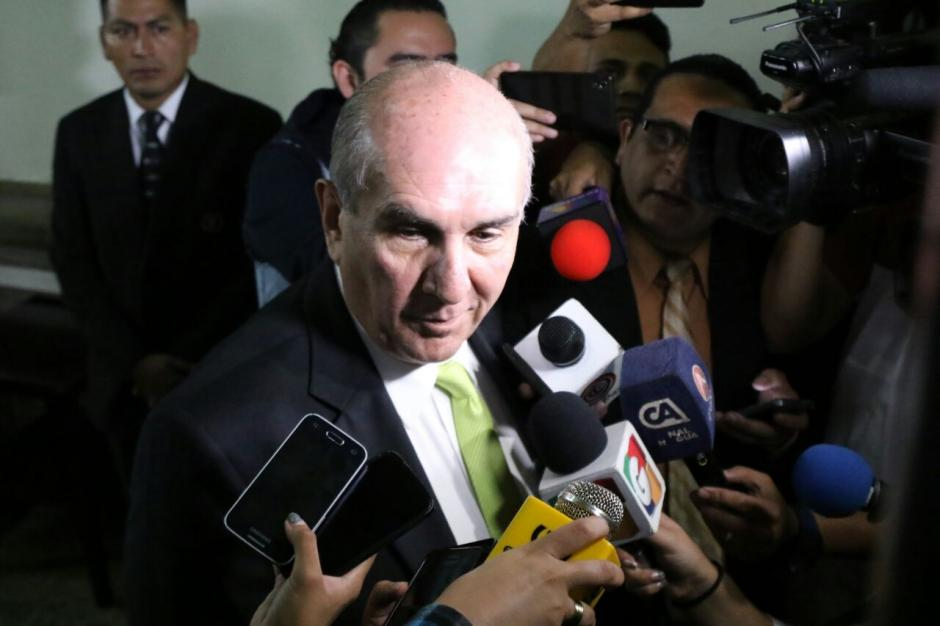 Taracena considera que para el martes cambiarán las negociaciones. (Foto: Alejandro Balán/Soy502)