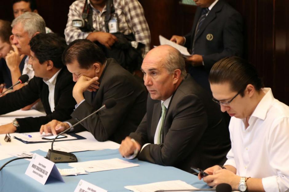 Mario Taracena perdió a sus aliados en las últimas semanas. (Foto Alejandro Balán/Soy502)