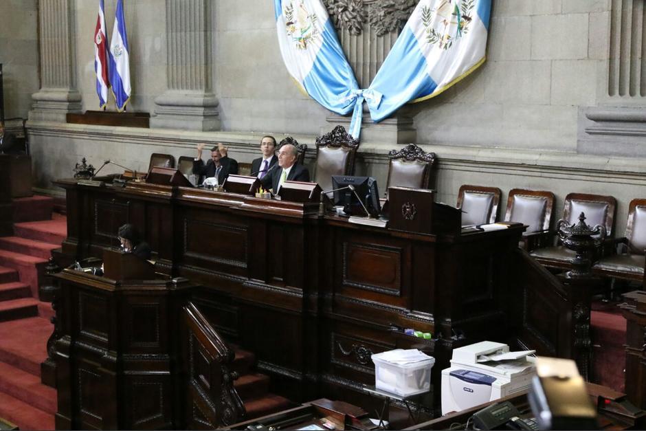 La sesión de este martes no inició por la inasistencia de los secretarios de Junta Directiva. (Foto: Alejandro Balán/Soy502)