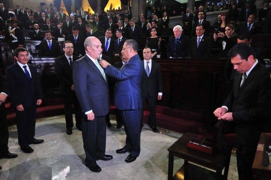 Taracena señaló que no se tolerarán más actos de corrupción dentro del Congreso. (Foto: Alejandro Balan/Soy502)