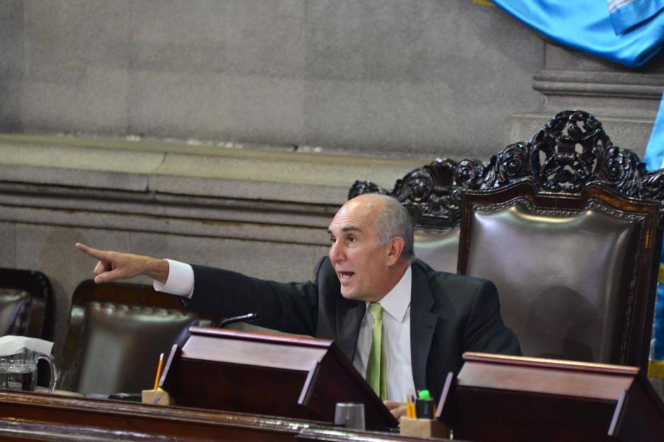 El Presidente del Congreso informó que recibió la notificación para poder despedir a Michael Vásquez. (Foto: Archivo/Soy502)