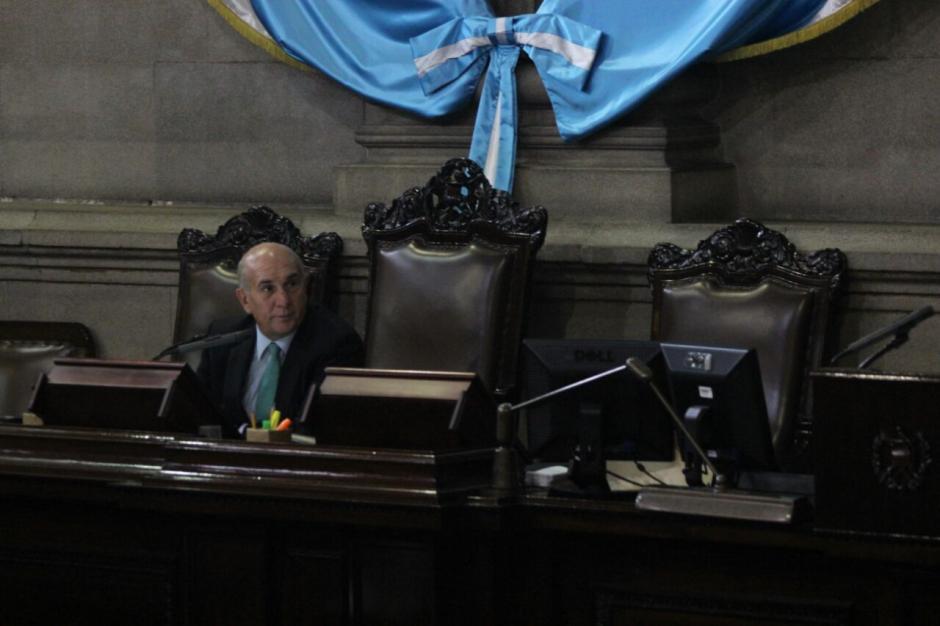 Los diputados fueron convocados para sesionar este jueves. (Foto: Alejandro Balán/Soy502)