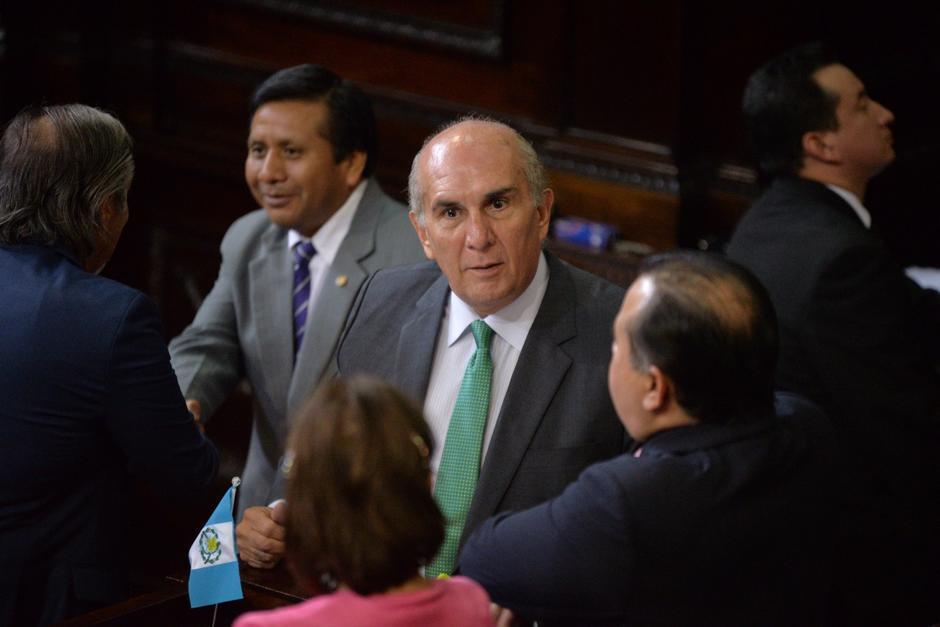 El Presidente del Congreso, Mario Taracena, señala que el estado de prevención genera temor. (Foto: Archivo/Soy502)
