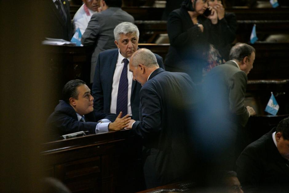 Taracena intentó modificar la agenda y con eso retrasar la votación. (Foto: Wilder López/Soy502)