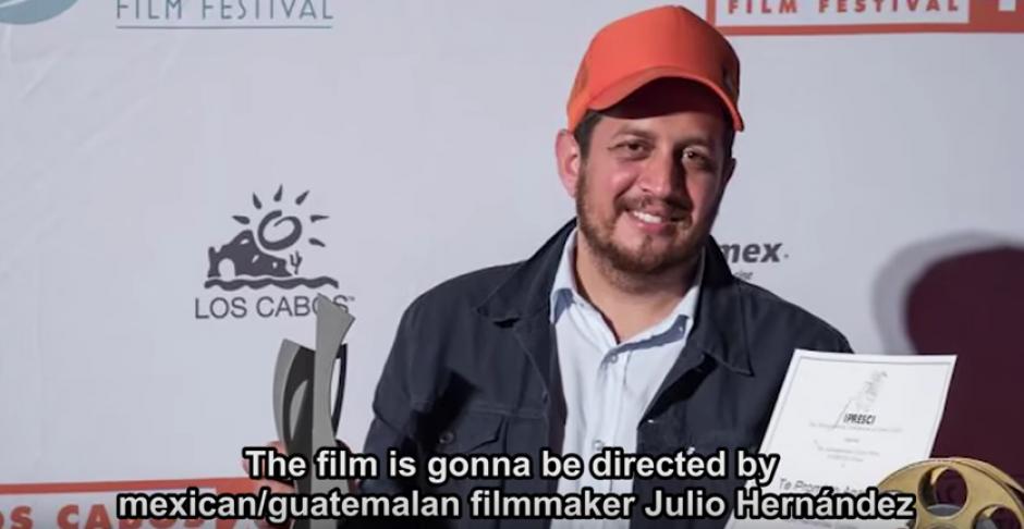 "Julio Hernandez dirigirá la película costarrisence ""Tarde"". (Foto: Youtube)"