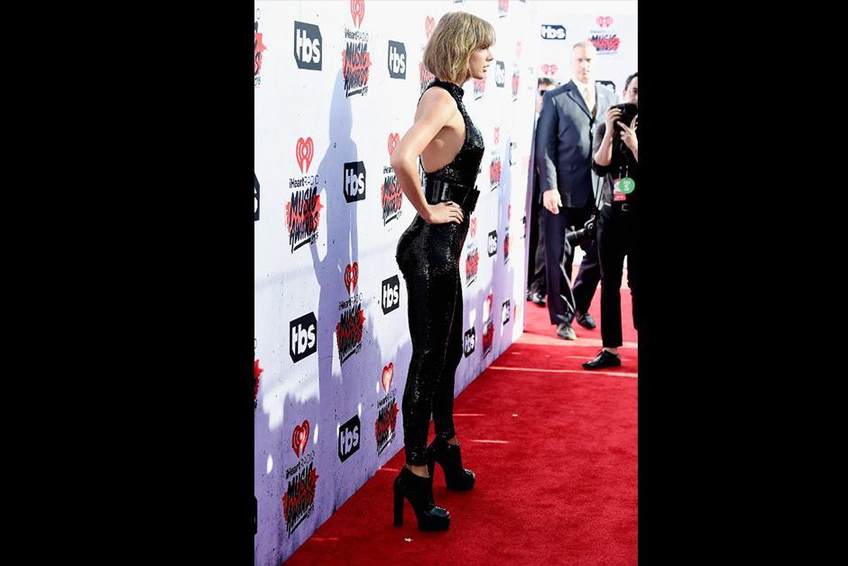 Una de las cosas que más llamó la atención de Taylor fue su torneada figura. (Foto: AFP)