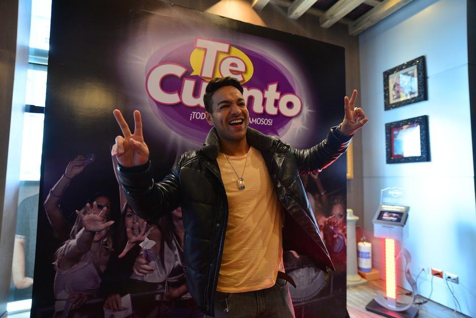 """Pedro Cuevas dijo """"Presente"""" en la gala. (Foto: Wilder López/Soy502)"""