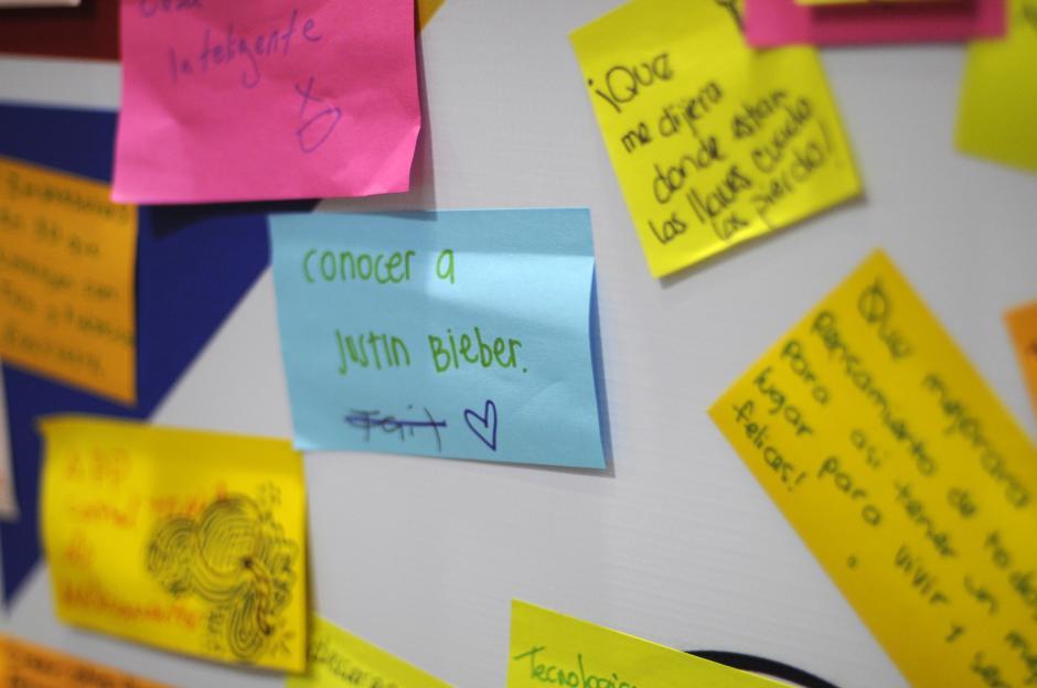 El 26 de octubre el cantante adolecente Justin Bieber visitará Guatemala. Una de las peticiones era conocerlo.(Esteban Biba/Soy502)