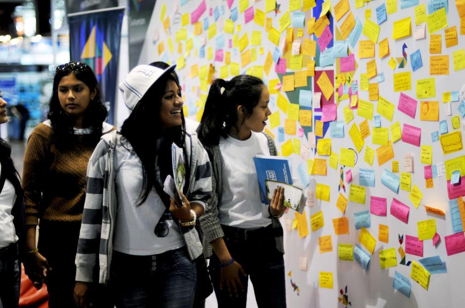 Los jóvenes son agentes de cambio, por lo que los sueños son solo metas de largo plazo.(Esteban Biba/Soy502)