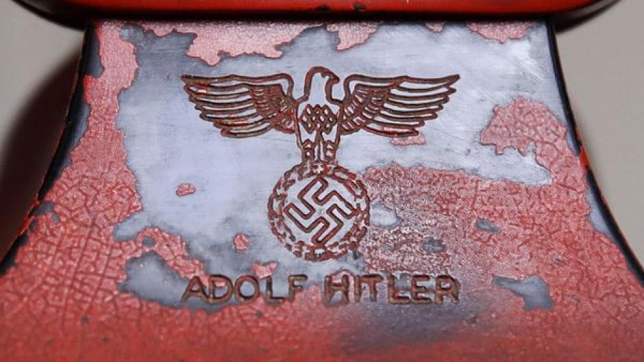El teléfono rojo de Hitler será subastado este fin de semana. (Foto: AFP)